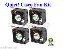 Cisco SG500-52P Super Quiet Cisco Replacement Fan Kit  (4x new fans) 12dBA Noise