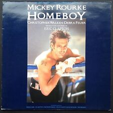HOMEBOY Film Soundtrack OST LP Eric Clapton Michael Kamen [Rare] Mickey Rourke