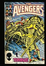 Avengers #257 NM+ 9.6 1st Nebula! Marvel Comics Thor Captain America