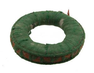Kissen Klangschale Tibet- Ø13.5cm Antik Ring Aus Portage Newari Grün 43