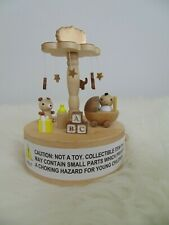 Collectible Musical Box Baby Wooden Child Christmas Birthday Gift Home Decors