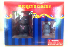 "DISNEY VINYLMATION 3"" MICKEY'S CIRCUS MRS JUMBO BABY DUMBO BIG TOP COMBO SET NIB"