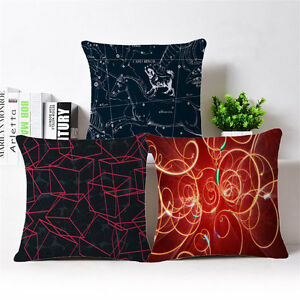 Geometric abstraction digital Throw Pillow Case Cushion Cover Home Decor 18""
