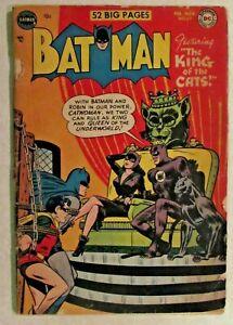DC COMICS - BATMAN- ISSUE # 69 - CATWOMAN APPEARANCE - GOLDEN AGE COMIC  - 1952
