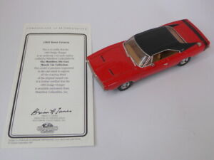 MATCHBOX COLLECTIBLES YMC10 1969 DODGE CHARGER in Red with black roof 1:43 Scale