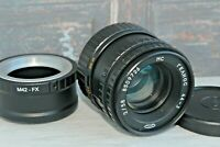 MC Helios 44-3 f2 58mm with M42 adapter Fujifilm F / serviced