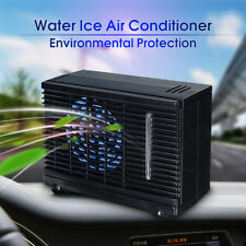 12V Portable Evaporative Air Conditioner Home Car ice Water Cooler Cooling Fan