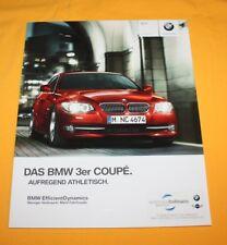 BMW 3er Coupe 2011 prospectus brochure depliant Prospetto catalog folder