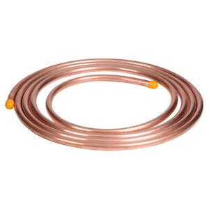 NEW 1 metre of 10mm copper, microbore, gas LPG plumbing pipe/tube water