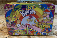 Vintage Willy Wonka Lunchbox / Tin Box small