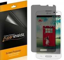 2X Supershieldz Privacy Anti-Spy Screen Protector Shield Film For LG Optimus L70