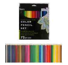 72 pc COLOR PENCILS Colored Pencil Set STUDIO 71 Presharpened Standard Size .3mm