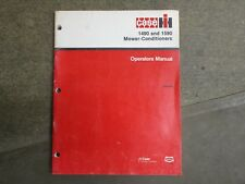 Case IH 1490 1590 mower conditioner owners & mainteanace manual