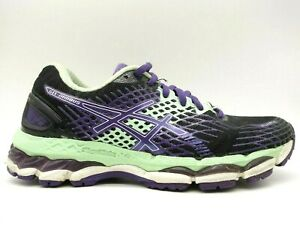 Asics Gel Nimbus Multi-Color Lace Up Athletic Running Shoes Women's 6