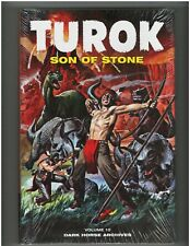 TUROK SON OF STONE ARCHIVE Vol 10 HC Rare Factory Sealed Dark Horse 9.8 NM/MT