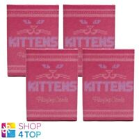 4 DECKS MADISON KITTENS CATS ELLUSIONIST BICYCLE SPIELKARTEN USPCC NEU