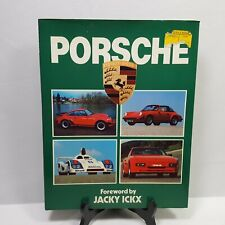 Porsche Vintage Hardcover Book Jacky Ickx Dust Jacket 64 Pages