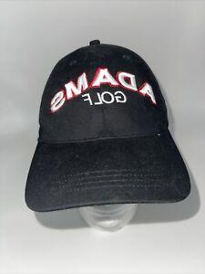 Rare Adams Insight XTD Adult Black Golf Embroidered Adjustable Hat Backwards