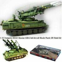 1/35 Trumpeter 00361 Russian SAM-6 Anti-Aircraft Missile Plastic DIY Model Kit