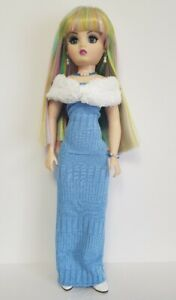 "CISSY DOLL CLOTHES OOAK Stole, Gown and Jewelry set 21"" HM Fashion NO DOLL d4e"