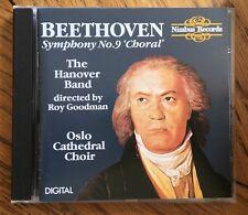 Beethoven - Symphony No. 9 Choral CD Nimbus. The Hanover Band, Ray Goodman