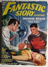 FANTASTIC STORY QUARTERLY pulp magazine Winter 1951 Clark Ashton Smith