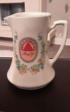 Early Bass Pale Ale Reproduction Water Jug From 1910 by Wade