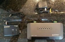 Universal Remote Control URC MRF-350 RF Basestation w/ 6 NEW Flashers Bundle OBO