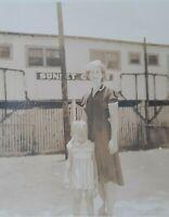 1940's Karl Swafford Co. Corpus Christi Tx Sunset Court Photo