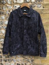 MENS NIKE SB SKATE CHORE JACKET SIZE SMALL ZIP UP HARRINGTON COAT TOP CAMO