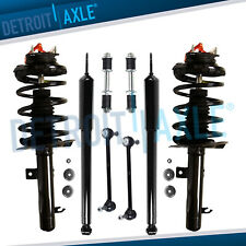 Front Struts + Rear Shock Absorbers + Sway Bars for 2006 - 2009 Ford Focus 2.0L