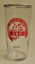 Verre gobelet bière Grande Brasserie Moderne ROUBAIX non émaillé peint