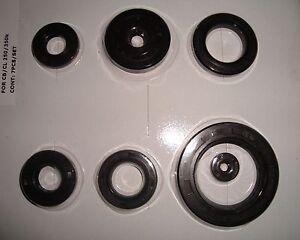 Honda CB 250 K + CB 350 K Motorsimmeringe oil seal kit Motor - Simmeringe