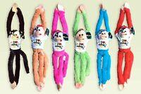 "ORANGE BEACH FL Plush Stuffed Toy Hanging Monkey 18"" w/ Sounds Lot of 6"
