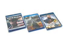 Pitch Black (Unrated Director's Cut), Battle: La, & Crank 2 Blu-ray Brand New