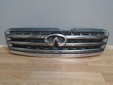 2005 - 2006 Infiniti Q45 Front Grille Grill Assembly With Emblem 05-06