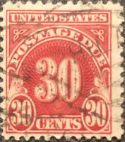 Scott #J75 US 1930 30c Postage Due Stamp VF LH