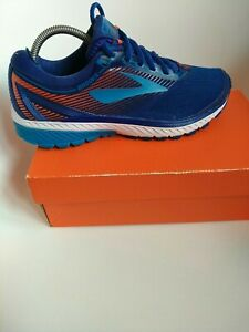 Brooks mens running shoes size 8.5 blue ghost 10 dna gts runmile tracking trail