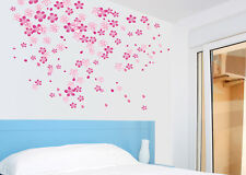 Romantic Flowers for Bedroom Wall Decor Vinyl Decal Stickers Removable WB01