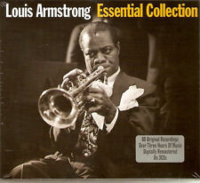 Louis Armstrong - Essential Collection [Best Of / Greatest Hits] 3CD NEW/SEALED