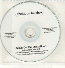 (DC950) Rebellious Jukebox, Killer On The Dancefloor - 2012 DJ CD