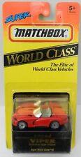 94 95 DODGE VIPER BOYS WORLD CLASS R/T #40 TV SHOW MB MATCHBOX