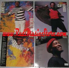LOTTO 2 LP JIMMY CLIFF hanging fire hanger PROMO USA