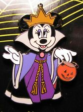Disney Halloween 2006 Trick Minnie Mouse as Evil Queen Pin NEW RARE