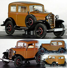 Opel P4 - 1935-37 brown-black braun-schwarz 1:43
