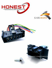 Per Vauxhall Corsa FIAT GRANDE PUNTO Motore Riscaldatore Ventilatore Resistore Unità & Plug
