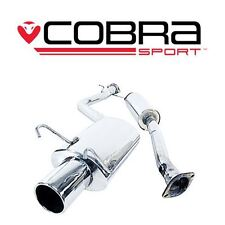 LX04 COBRA SS EXHAUST fit Lexus IS200 98>05 Cat Back System (Resonated)