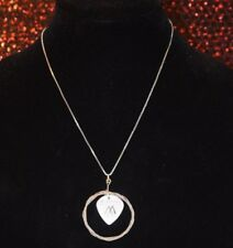 Mark Vollelunga {Nothing More} Guitar String and Pick Necklace