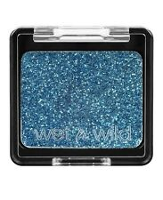 Wet N Wild Color Icon Glitter Single Distortion Blue Eyeshadow Party Makeup