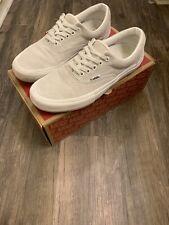 Vans Mens Era Pro Sneakers Blanc 10
